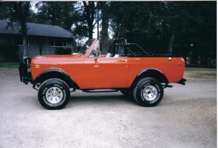 1975 International Scout. Dream Vehicle.