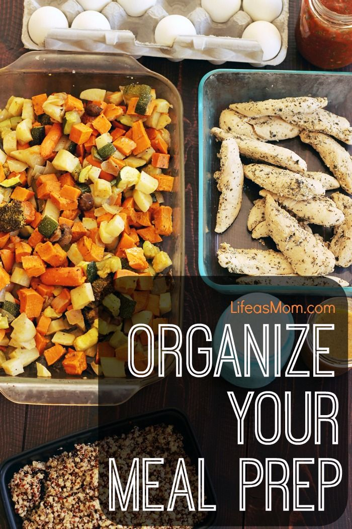 Organize Your Meal Prep | Life as Mom - Meal prep can be crazy when you're a mom. Baby's crying, kids are grumpy, everyone's hungry. Organize your meal prep so the witching hour isn't so witchy.