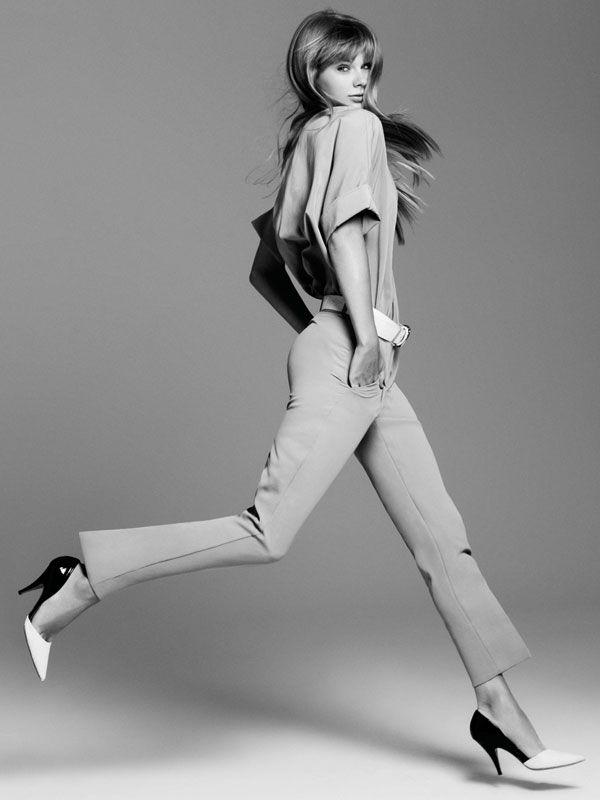 Smartologie: Taylor Swift for Harper's Bazaar US December 2012