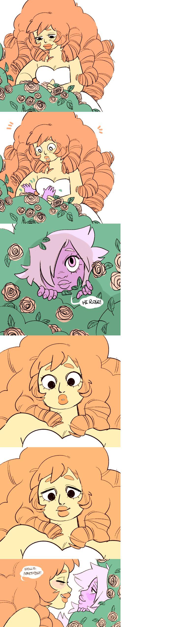 Steven universe,фэндомы,Rose Quartz,SU Персонажи,Amethyst (SU),SU comics