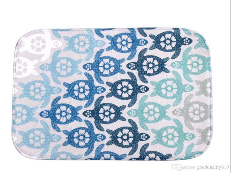 40*60cm Sea Turtle Bath Mats Anti Slip Rugs Coral Fleece Carpet For For Bathroom Bedroom Doormat Online Car Carpet Installation Bigelow Commercial Carpet From Goodquality610, $11.05| Dhgate.Com