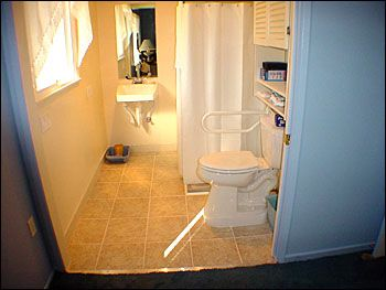 86 best universal design images on pinterest for Wheelchair accessible bathrooms