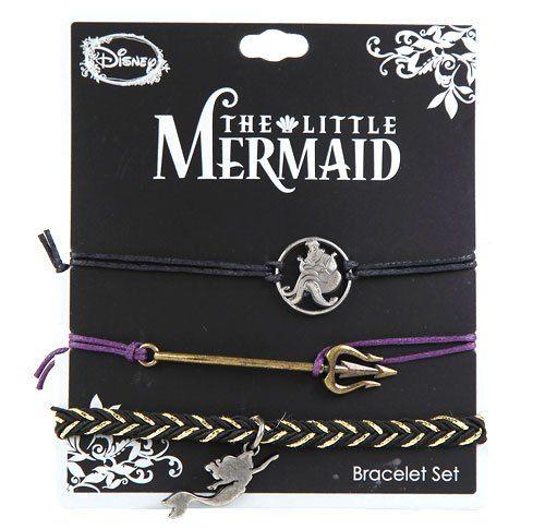 Disney's Little Mermaid Icons Bracelet Set