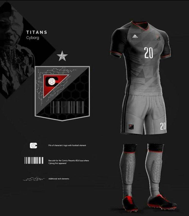 Diseño de jersey y logo equipo de Cyborg