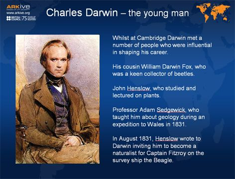 an introduction to the life and work by charles darwin Charles darwin, reluctant revolutionary, profoundly altered our view of the natural world and our place in it charles darwin looked closely at life the vast and marvelous diversity of life on earth, from barnacles to butterflies, ostriches to orchids, made him curious.