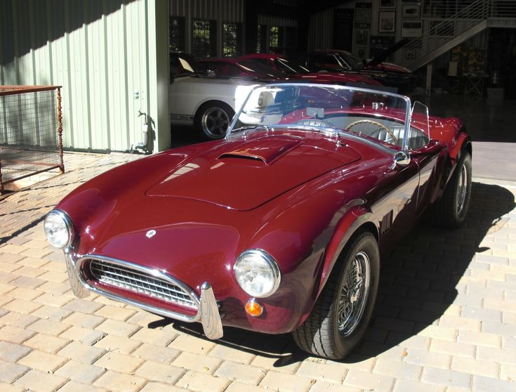 Shelby Cobra 289 - yes, a real one.