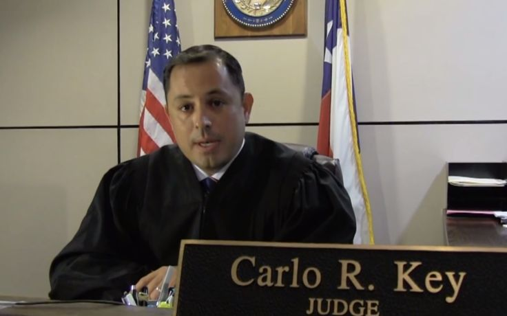 "TEXAS JUDGE CARLO KEY FLEES THE GOP:  ""These are not my values.""  ~  Carlo Key, a judge in Bexar County, Texas, has left the Republican Party, and he blames the Tea Party. ""Rational Republican beliefs have given way to character assassination,"" says Key in a video announcing his switch to the Democratic Party, ahead of his reelection campaign. ""Make no mistake, I have not left the Republican Party. It left me.""  ~ The Daily Beast; 10/23/2013"