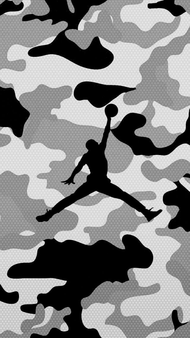 Camo Mike In 2019 Jordan Logo Wallpaper Hypebeast