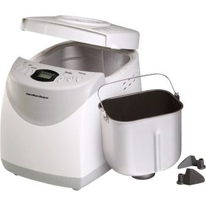 Hamilton Beach 2-lb Bread Machine $37. More gift ideas such as waffle makers, food dehydrators, sandwich makers, quesadilla maker on the website in the comments.