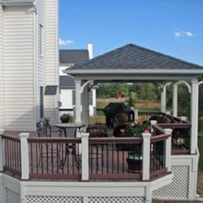 61 best deck/patio ideas images on pinterest | deck patio, patio ... - Deck And Patio Ideas Designs
