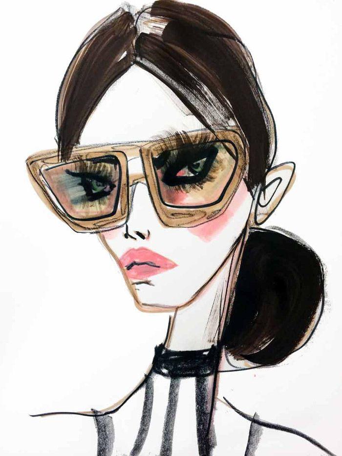 Fashion Illustrations by Blair Breitenstein