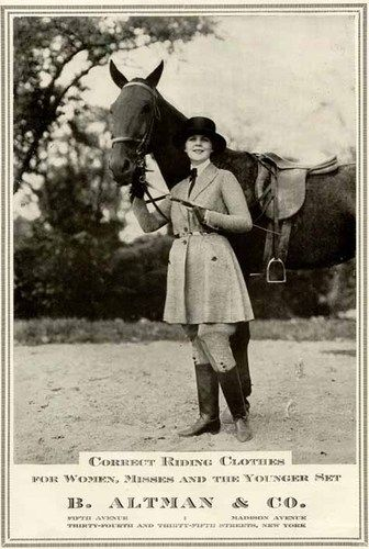 Women's Riding Clothes in 1920 B Altman Co Ad | eBay