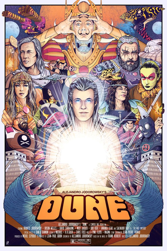 Dune by Matt Chinn - Home of the Alternative Movie Poster -AMP-