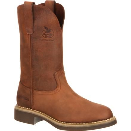 Georgia Boot Women's Carbo-Tec Pull-On Work Boot