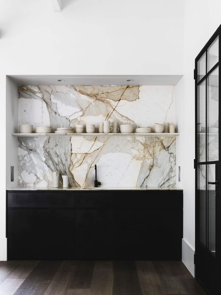 Not normally a fan of loud marble but this is stunning