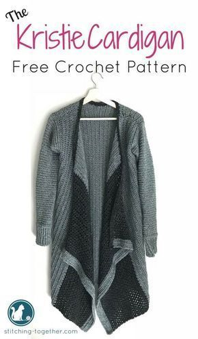 Free Crochet Pattern For An Adorable Blanket Cardigan This Cardi Is