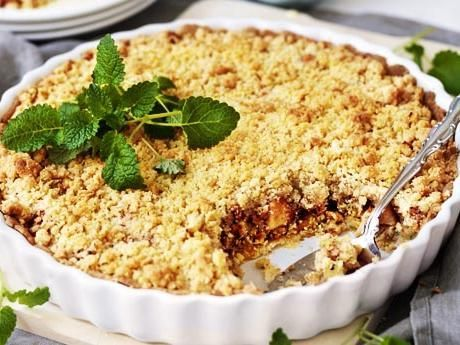 Äpple, mandel, kanel och kardemumma, vilka fantasiska smaker i en paj…