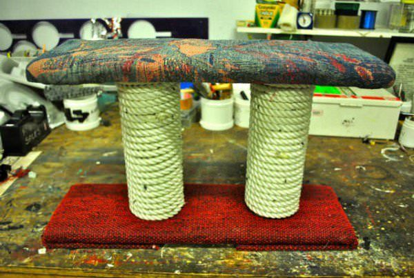 Diy: Cat Scratching Post Accessories Do-It-Yourself Ideas