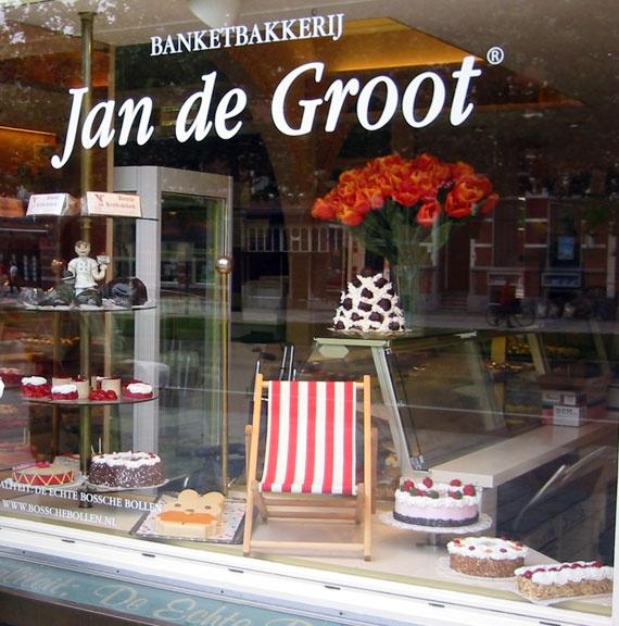 ♥ Jan de Groot: de beste Bossche bollen maar ook de  heerlijke Bossche kus vind je hier. Aanraders!