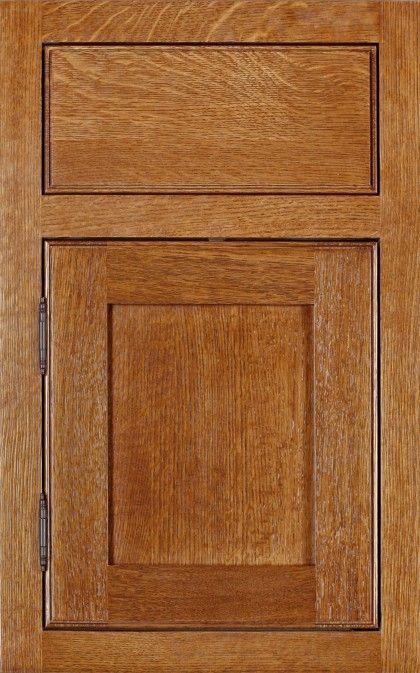 Quarter sawn oak kitchen cabinets | Home decor | Pinterest