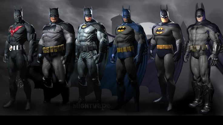 Every Bad Ass Batman Imaginable!!