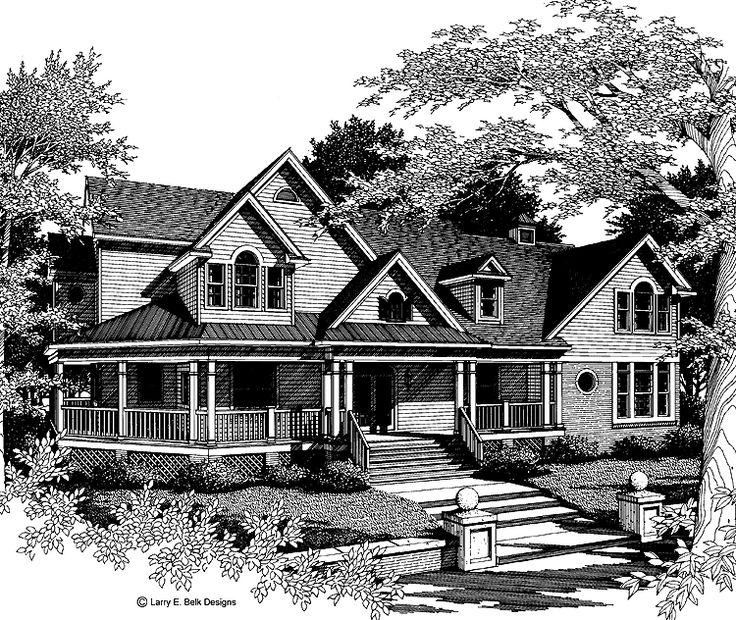 Eplans Farmhouse House Plan Two Story Treasure 6054