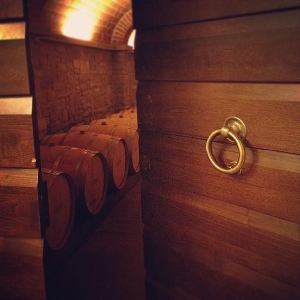 Welcome to Il Borro's wine cellars