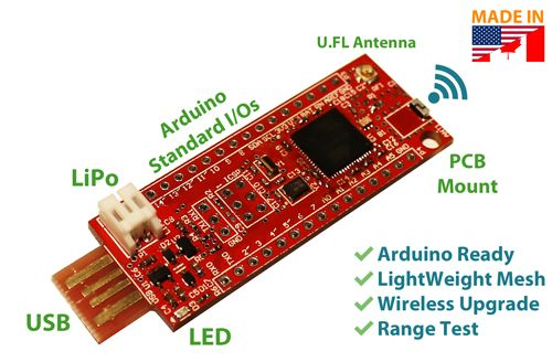 miniSWARM – Scalable Wireless Arduino Radio Module