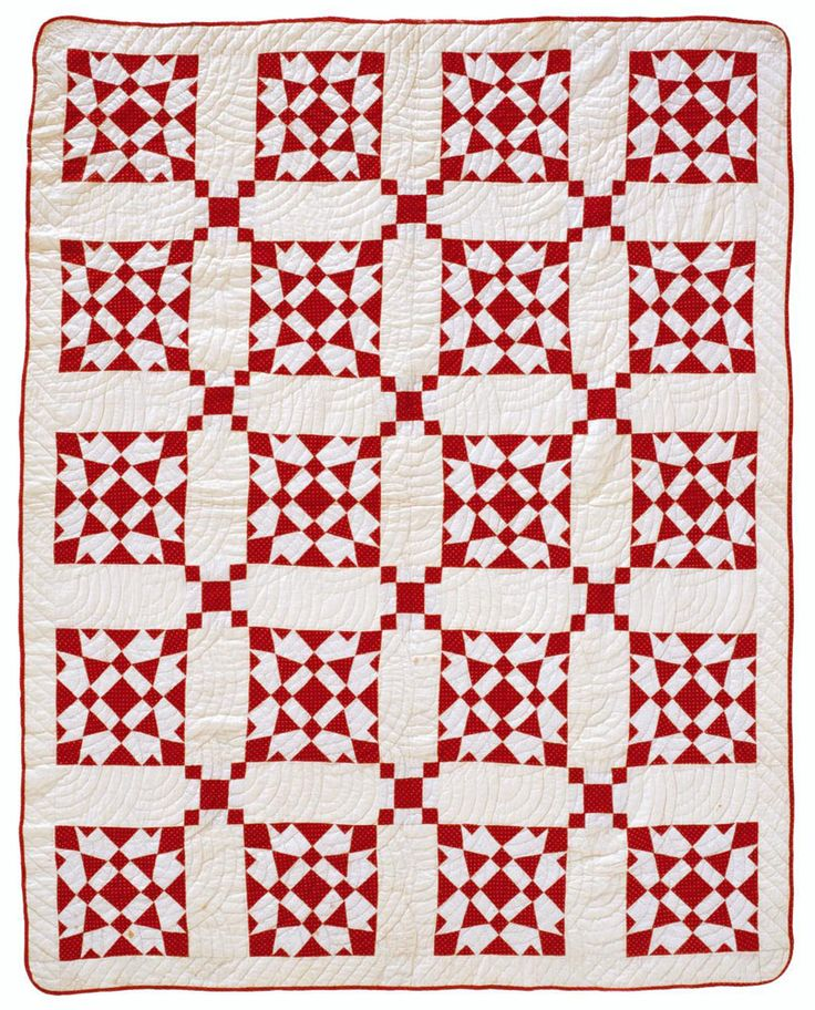 315 best Red and white quilts images on Pinterest | Patchwork ... : red and white quilt patterns - Adamdwight.com