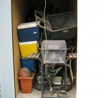 1X 5X10 & 1X 10X15. This auction is for TWO storage units for ONE price. The 5X10 has an old lawnmower and misc household items. The 10X15 has flat bottom aluminum boat about 12 feet long, 4X P225/65R17-100T M&S tires and Dodge mags, misc wood furniture?highchair and misc items. #StorageAuction in summerland (IB-5694). Ends Jun 8, 10:00AM US/Los_Angeles. Lien Sale.