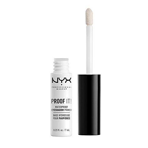 NYX PROFESSIONAL MAKEUP Proof It! Waterproof Eyeshadow Primer, 0.23 Ounce