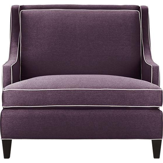 Purple Chair And Half