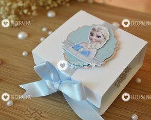 Caixinha Frozen Luxo Lembrancinha