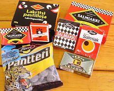 Finnish liquorice, best in the world. Especially the salty-sweet type, salmiakki, salt liquorice (also known as salmiak or salmiac). It's strong, salty and SO GOOD! And the Finns make it best :-D