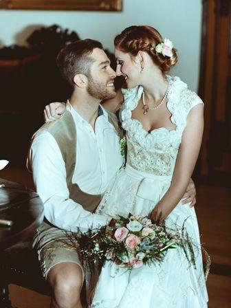 Styled Shooting: Prinzessin für einen Tag Brautpaar