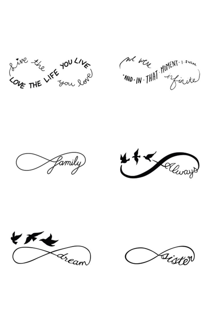 Free shipping and returns on Tattify™ 'Sweet Nothings' Temporary Tattoos at No…