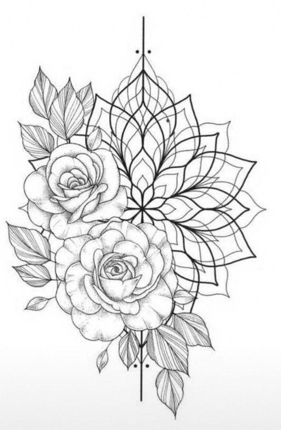 Ethnique Mandala Tattoo Design Tattoos Pattern Tattoo