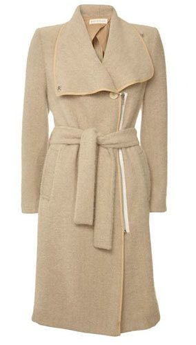 Pear shape coats: Whistles coat
