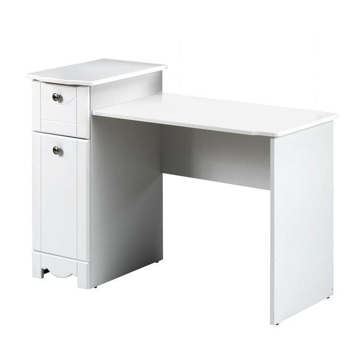 17 best images about vanity nook on pinterest chrome for Cheap vanity desk