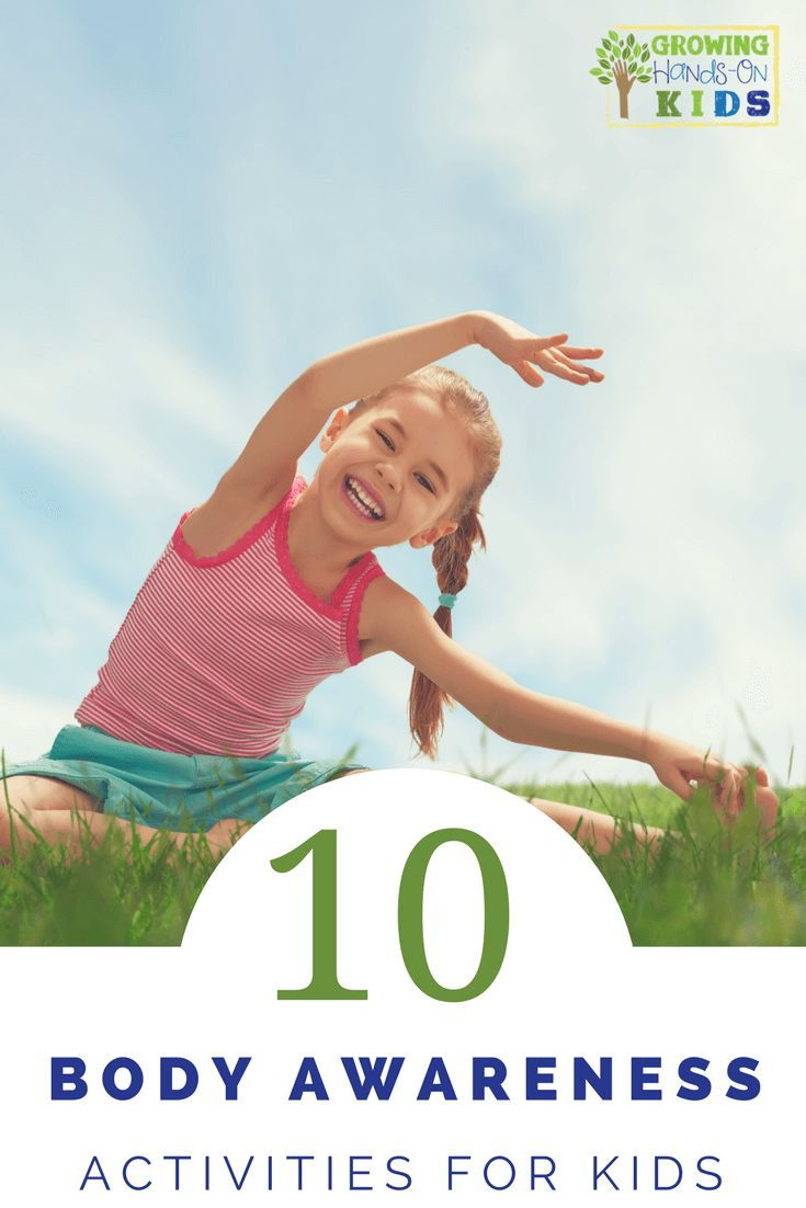 10 body awareness activities for kids, perfect for working on bilateral coordination and crossing midline.  via /growhandsonkids/