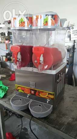 This is two bowl imported slush machine for cafeteria business - Electronics & Appliances  - Lahore