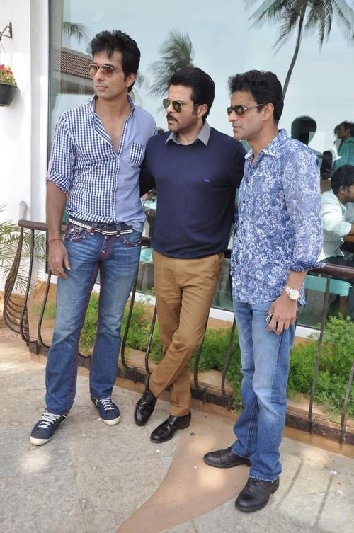 Press Conference of Film 'Shootout at Wadala' - Sonu Sood, Anil Kapoor and Manoj Bajpai