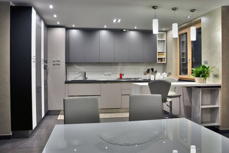 Oltre 25 fantastiche idee su pranzo soggiorno cucina su - Cucina sala open space ...