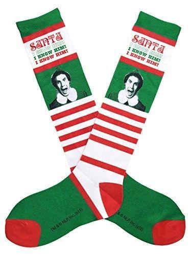 "Buddy the Elf ""I know him"" Socks | 12 Wacky Socks For The Christmas Enthusiast"