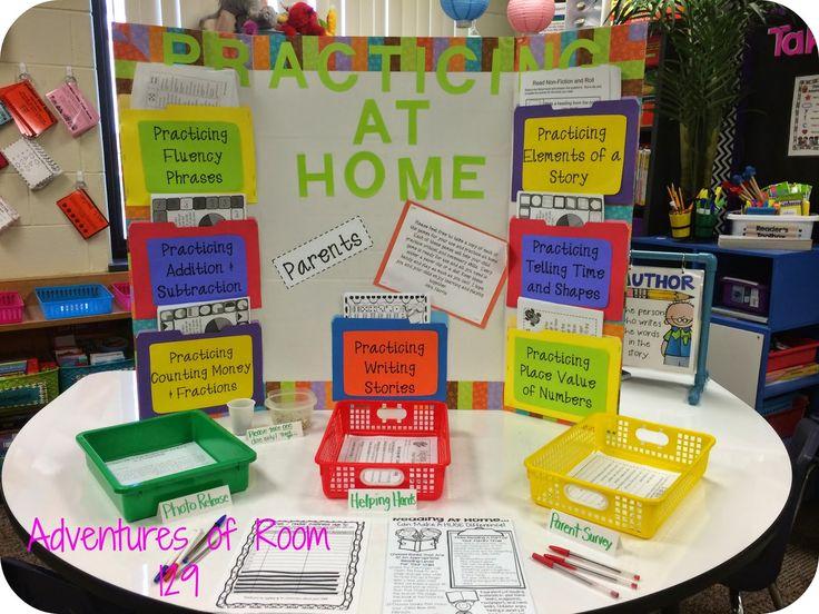 Classroom Ideas For Preschool Teachers ~ Best open house school ideas on pinterest teacher