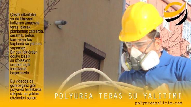 Polyurea Teras Su Yalıtımı
