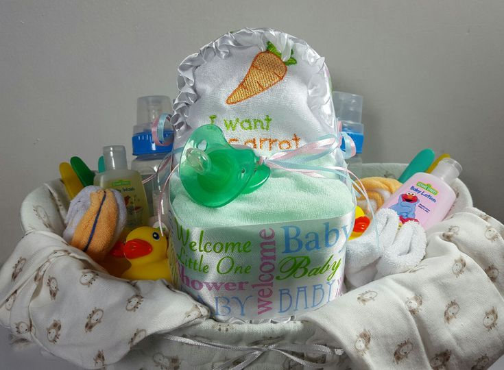 Baby Shower Party Gift Basket For Neutral - 37 items including Gerber Baby Items #Handmade #Sprinkle #BabyShower #Baby #Shower #SALE #IDEAS #DIY #Gifts #Cute #Crafts #BabySprinkle #Etsy #eBay  #LittleHomeMades #JCsBabyShowerGifts