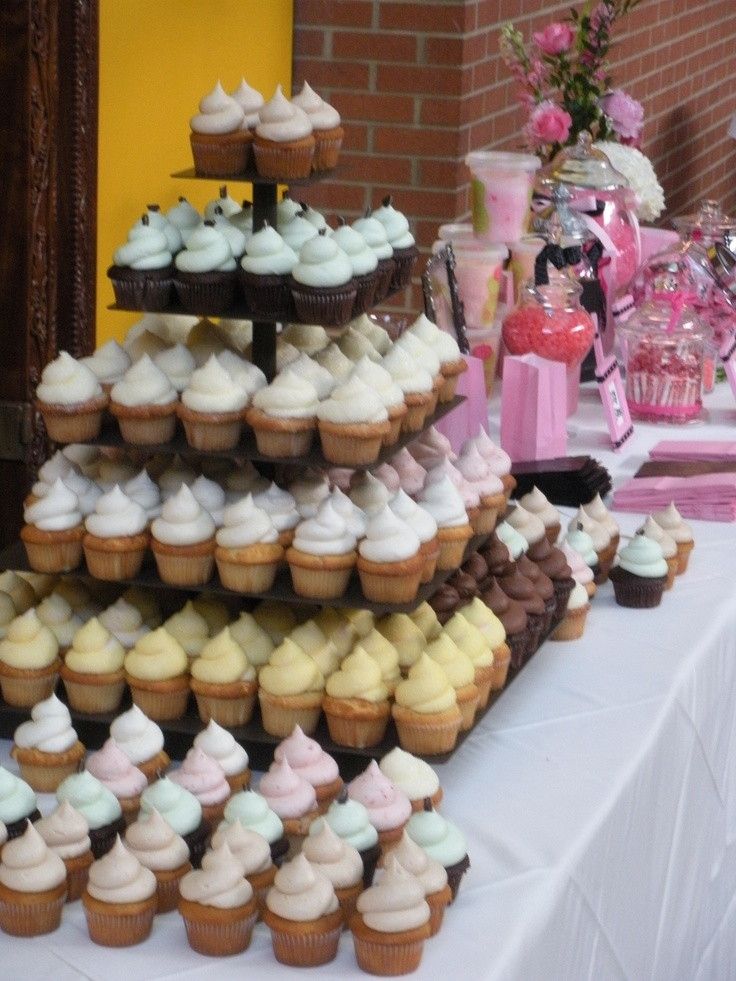 48 Best Images About Cupcake Table On Pinterest White