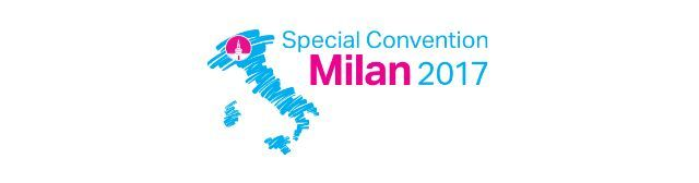 ITALY MILAN - 2017 SPECIAL CONVENTION - July 2017 Details to be announced / confirmed.  Convention programme in Italian and English.  With specially invited delegates from Albania Argentina Croatia France Spain Switzerland and United States.  NOTE: This Special July 2017 Convention marks the 54th Anniversary of the legendary 1963 Franz and Knorr Everlasting Good News Around-the-World Tour which stopped off at Milans world famous Vigorelli Velodrome from 21 to 28 July 1963 - it was here that…