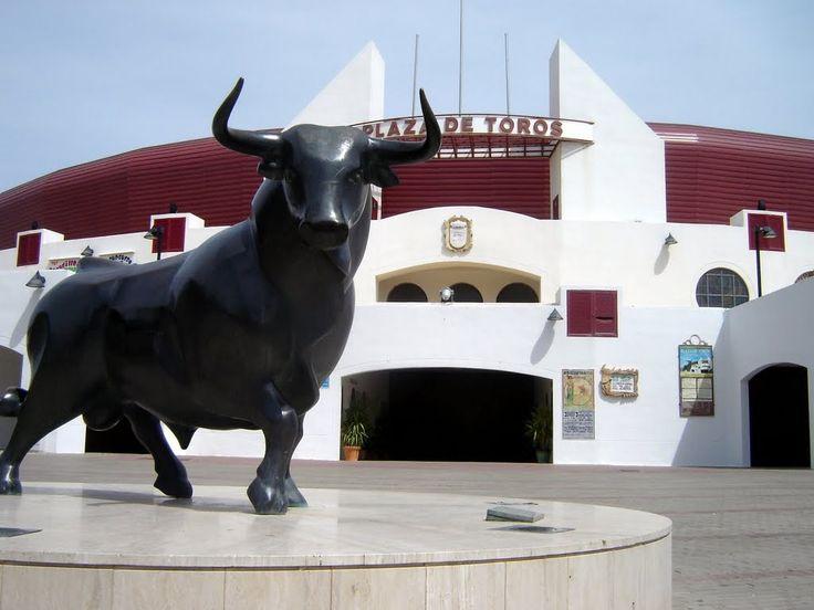 Roquetas de Mar - Plaza de Toros ***photo: Robert Bovington #Roquetas de Mar article: http://www.unique-almeria.com/roquetas-de-mar.html